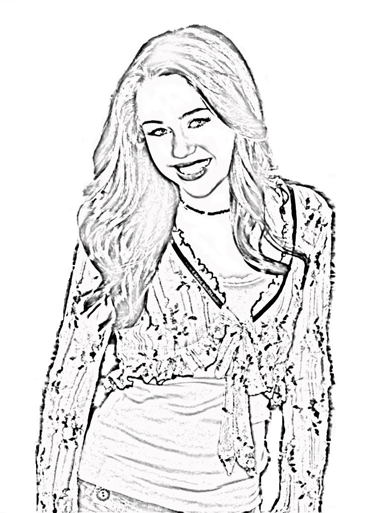 Uncategorized Miley Cyrus Coloring Pages miley cyrus coloring pages