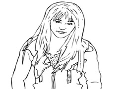 miley cyrus coloring pages printable - photo#27